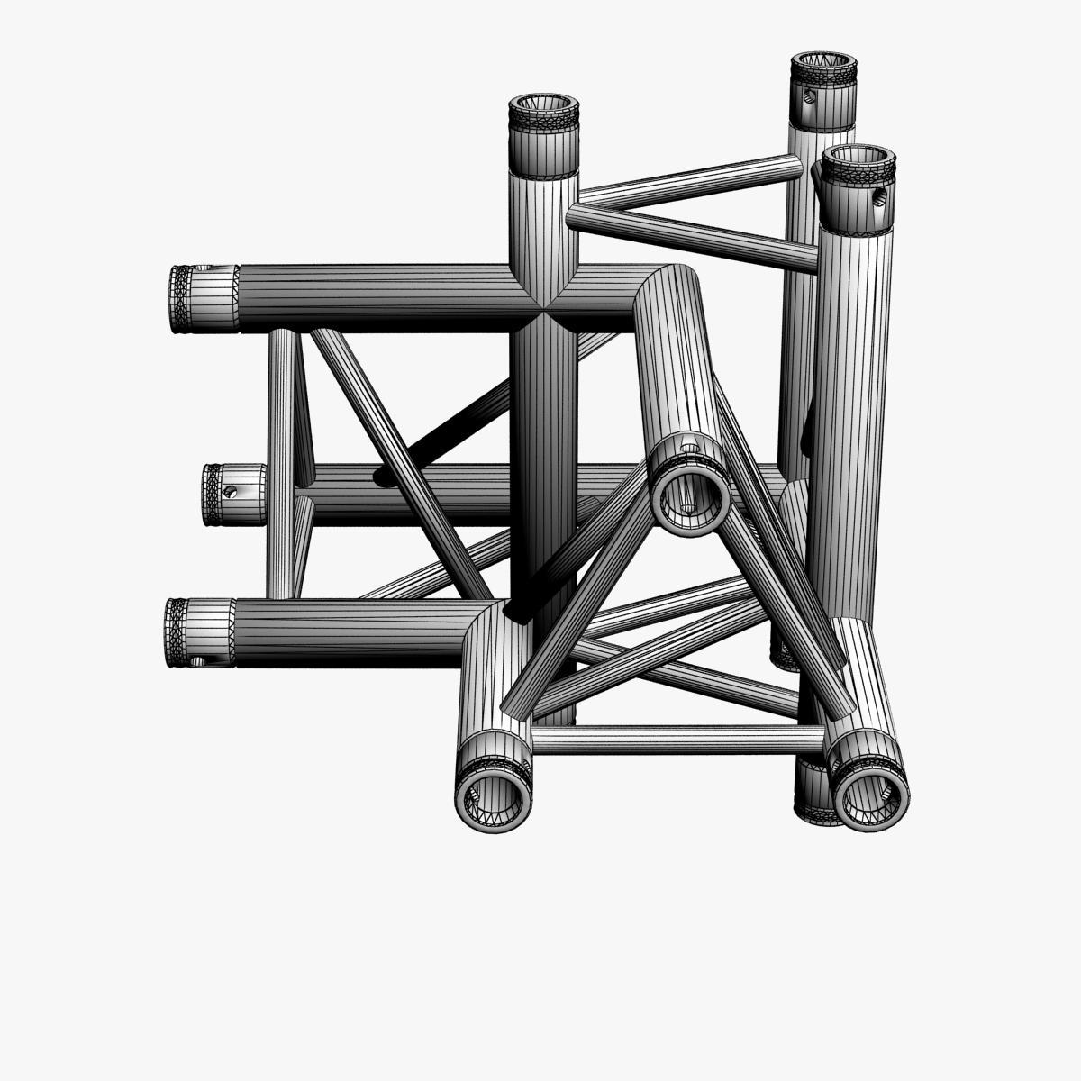 Triangular Truss Corner Junction 102 3d model 3ds max dxf fbx b3d c4d  obj other 268935