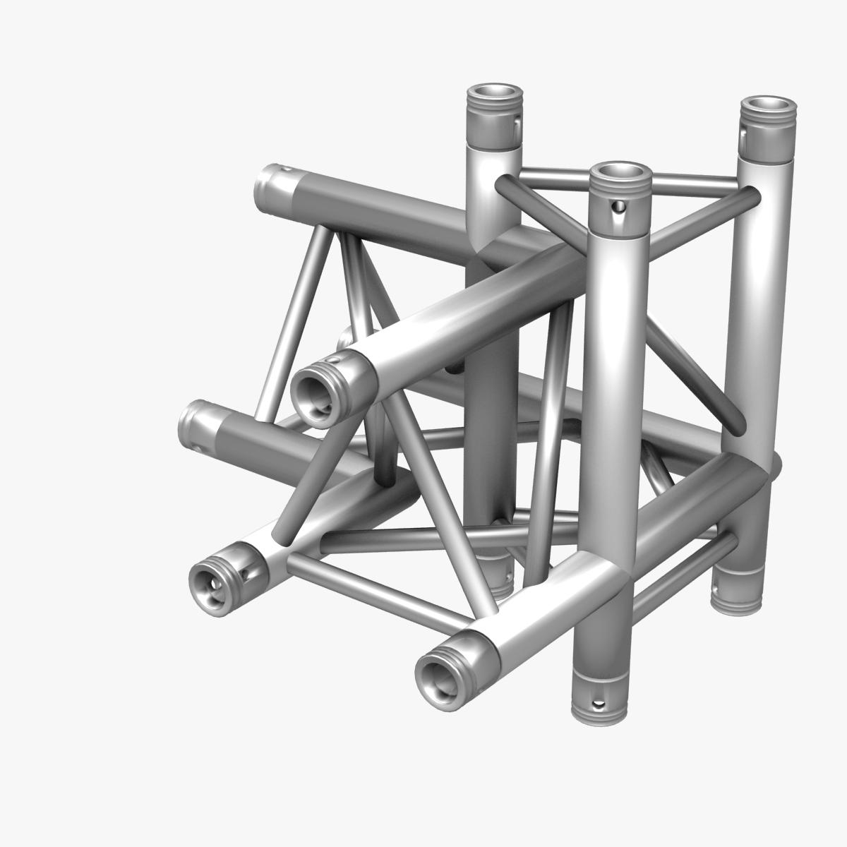 Triangular Truss Corner Junction 102 3d model 3ds max dxf fbx b3d c4d  obj other 268936