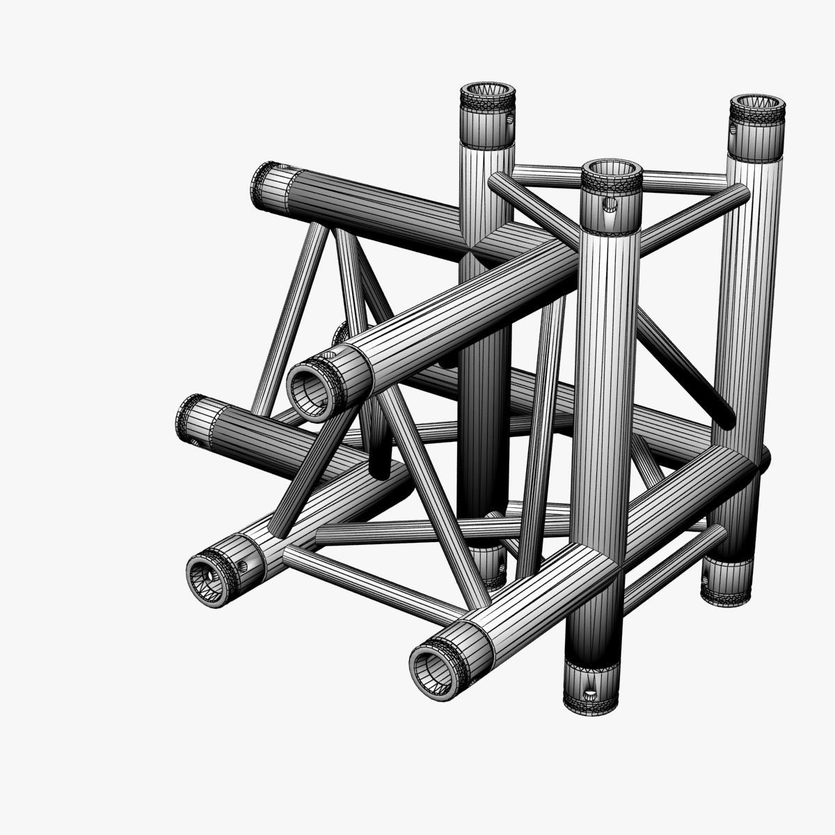 Triangular Truss Corner Junction 102 3d model 3ds max dxf fbx b3d c4d  obj other 268937
