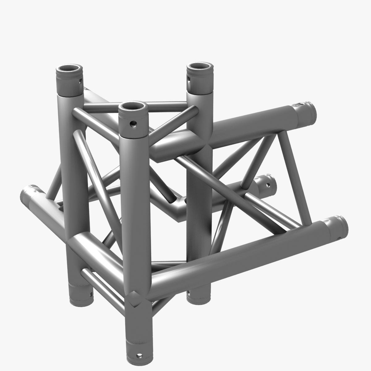 Triangular Truss Corner Junction 102 3d model 3ds max dxf fbx b3d c4d  obj other 268938