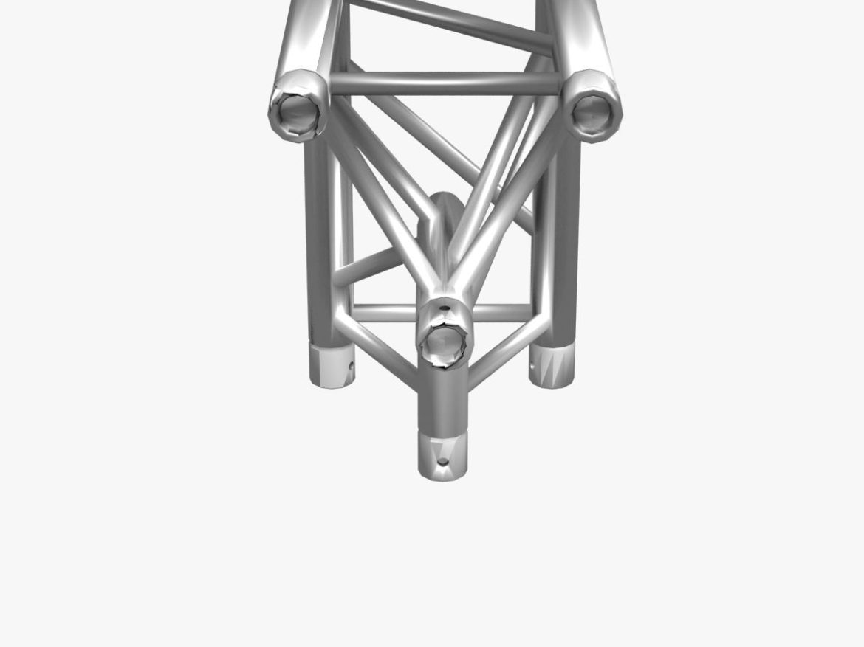 Triangular Truss Corner Junction 107 3d model 0