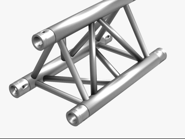 Triangular Truss Straight Segment 71 3d model 0