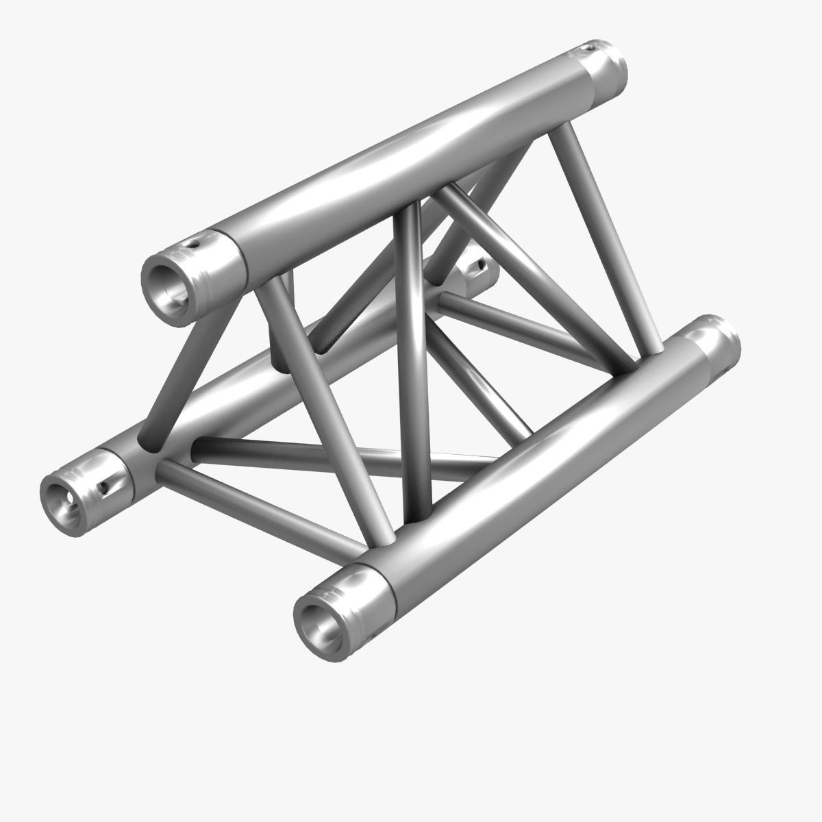 Triangular Truss Straight Segment 71 3d model 3ds max dxf fbx b3d c4d  obj 268961