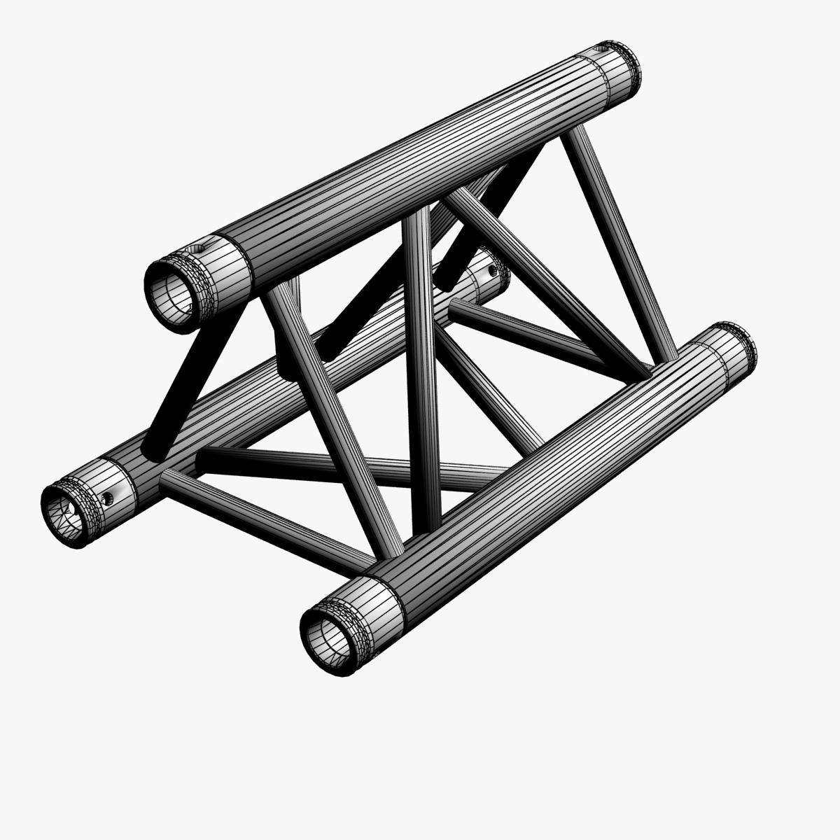 Triangular Truss Straight Segment 71 3d model 3ds max dxf fbx b3d c4d  obj 268962