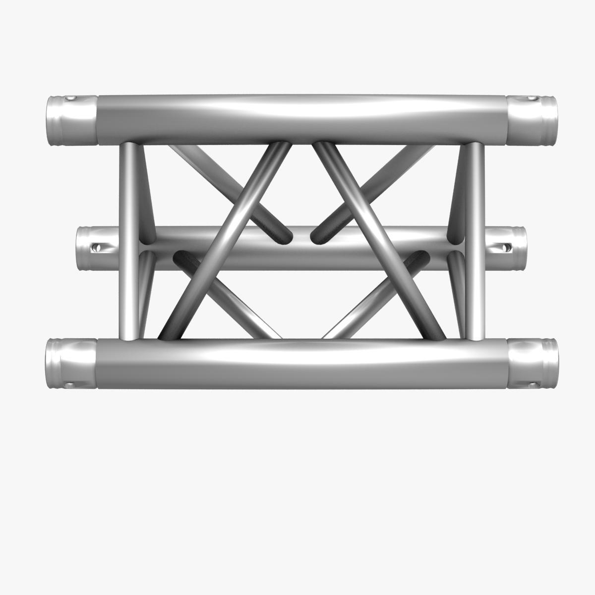 Triangular Truss Straight Segment 71 3d model 3ds max dxf fbx b3d c4d  obj 268963