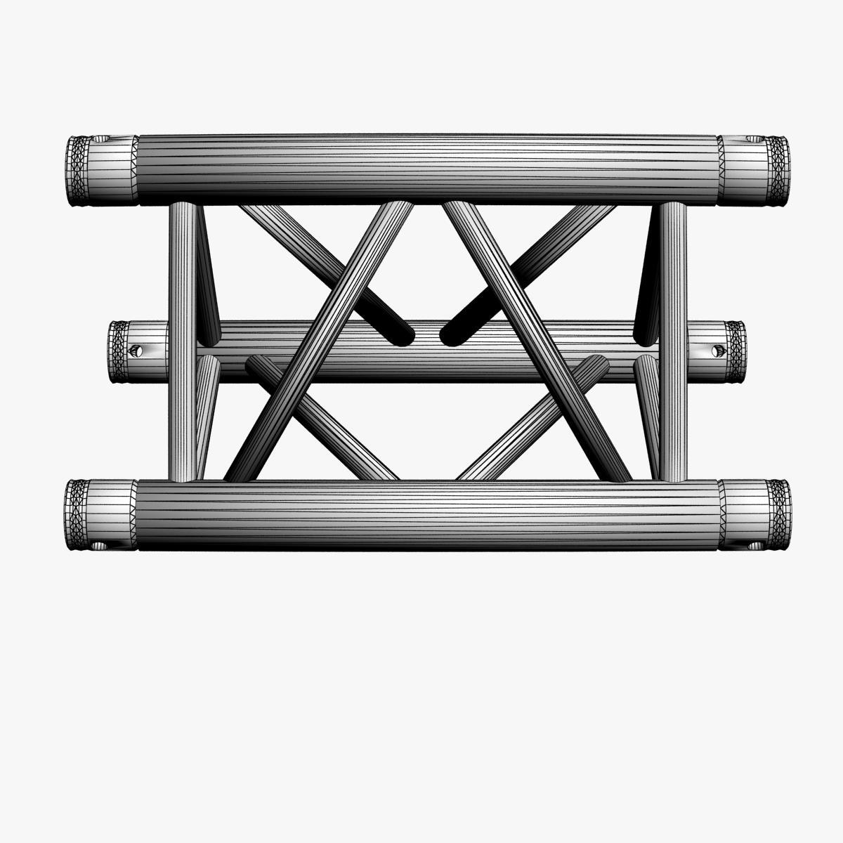 Triangular Truss Straight Segment 71 3d model 3ds max dxf fbx b3d c4d  obj 268964