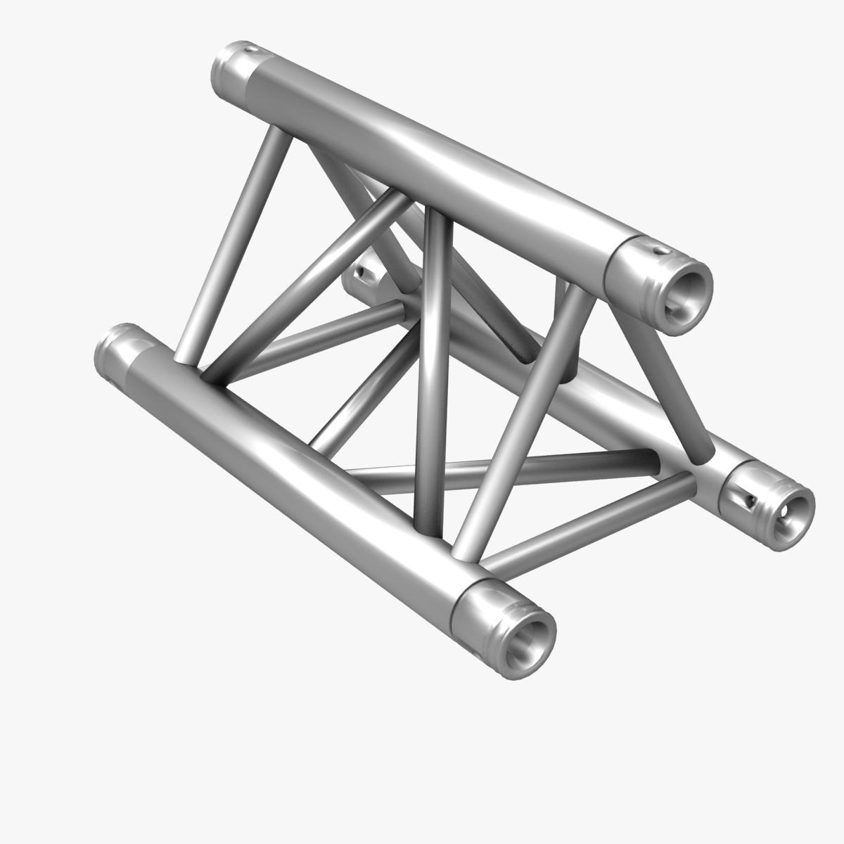 Triangular Truss Straight Segment 71 3d model 3ds max dxf fbx b3d c4d  obj 268965