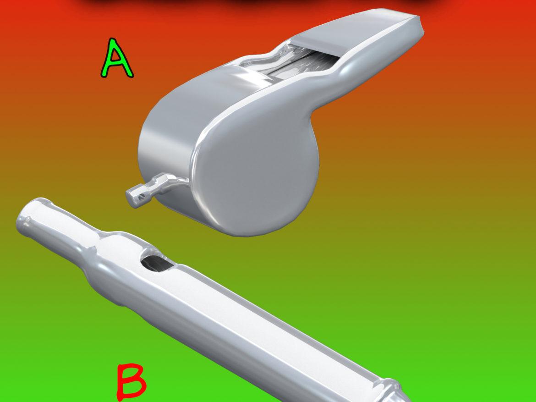 Whistles FBX_OBJ 3d model 0
