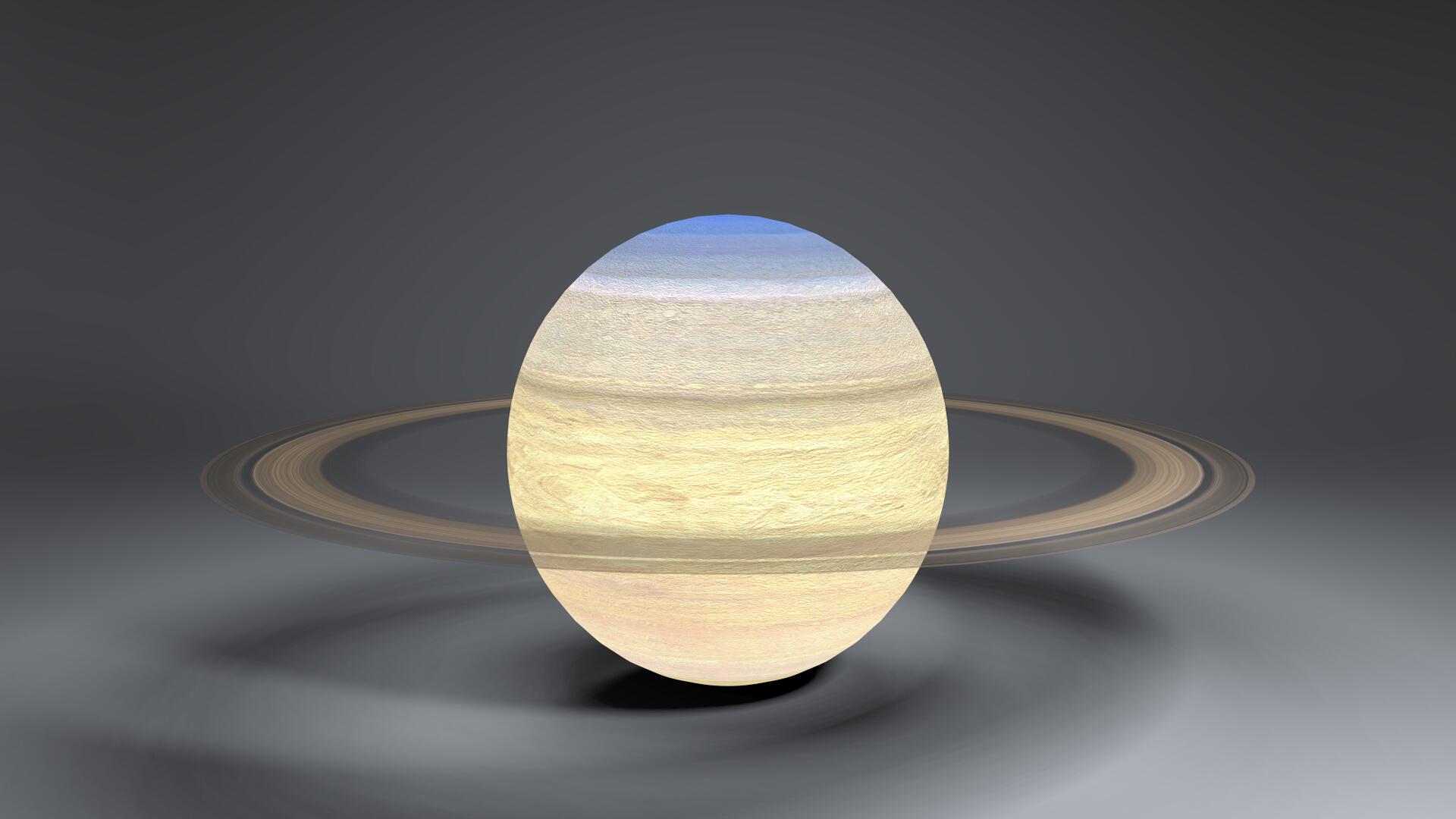 saturn 4k globe 3d model 3ds fbx blend dae obj 269053