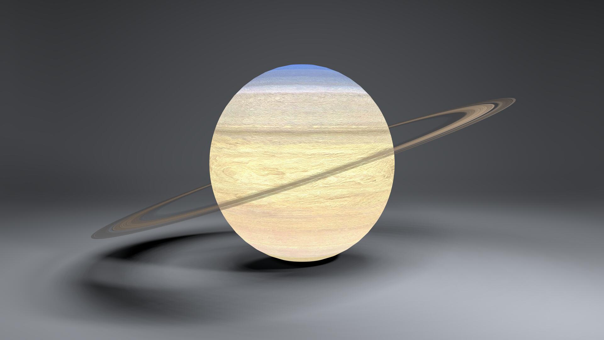 saturn 4k globe 3d model 3ds fbx blend dae obj 269055