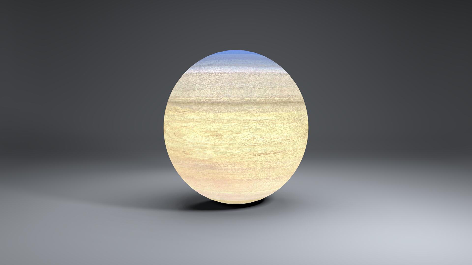 saturn 4k globe 3d model 3ds fbx blend dae obj 269056