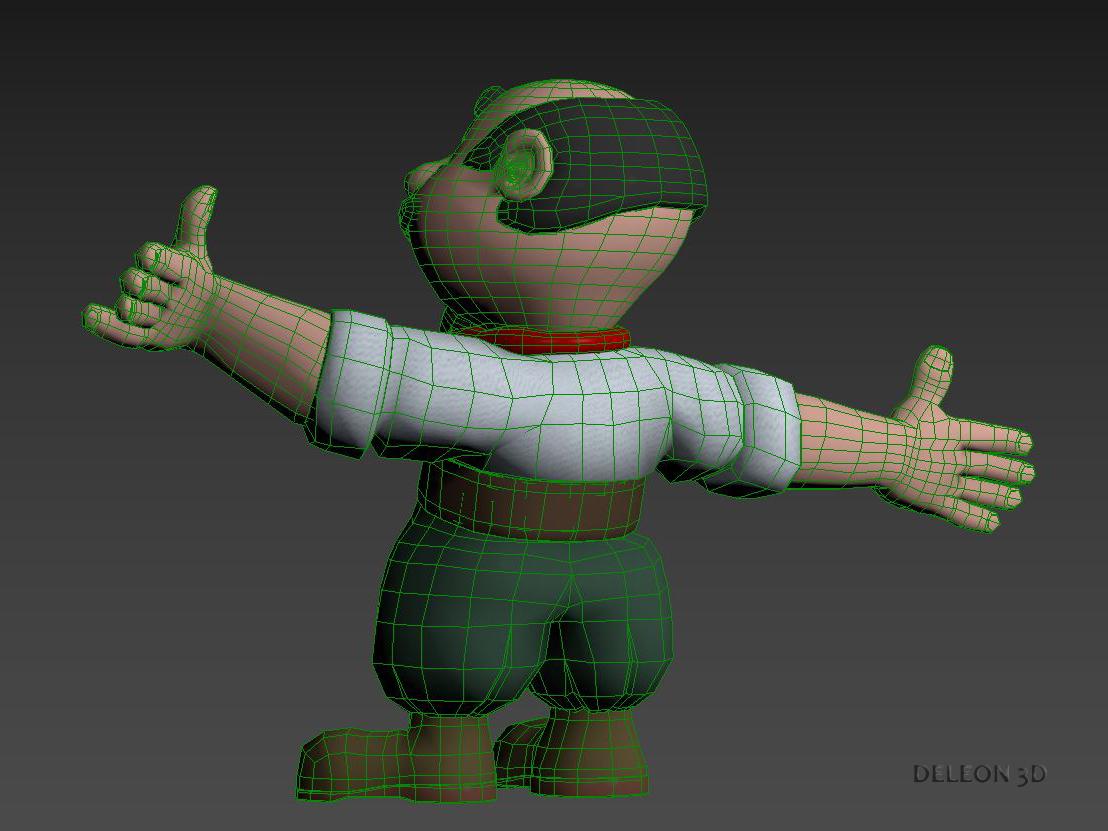 Character Gaucho 3d model max fbx c4d lxo  texture obj 269075