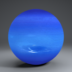 Neptune 2k Globe 3d model  3ds fbx blend dae obj