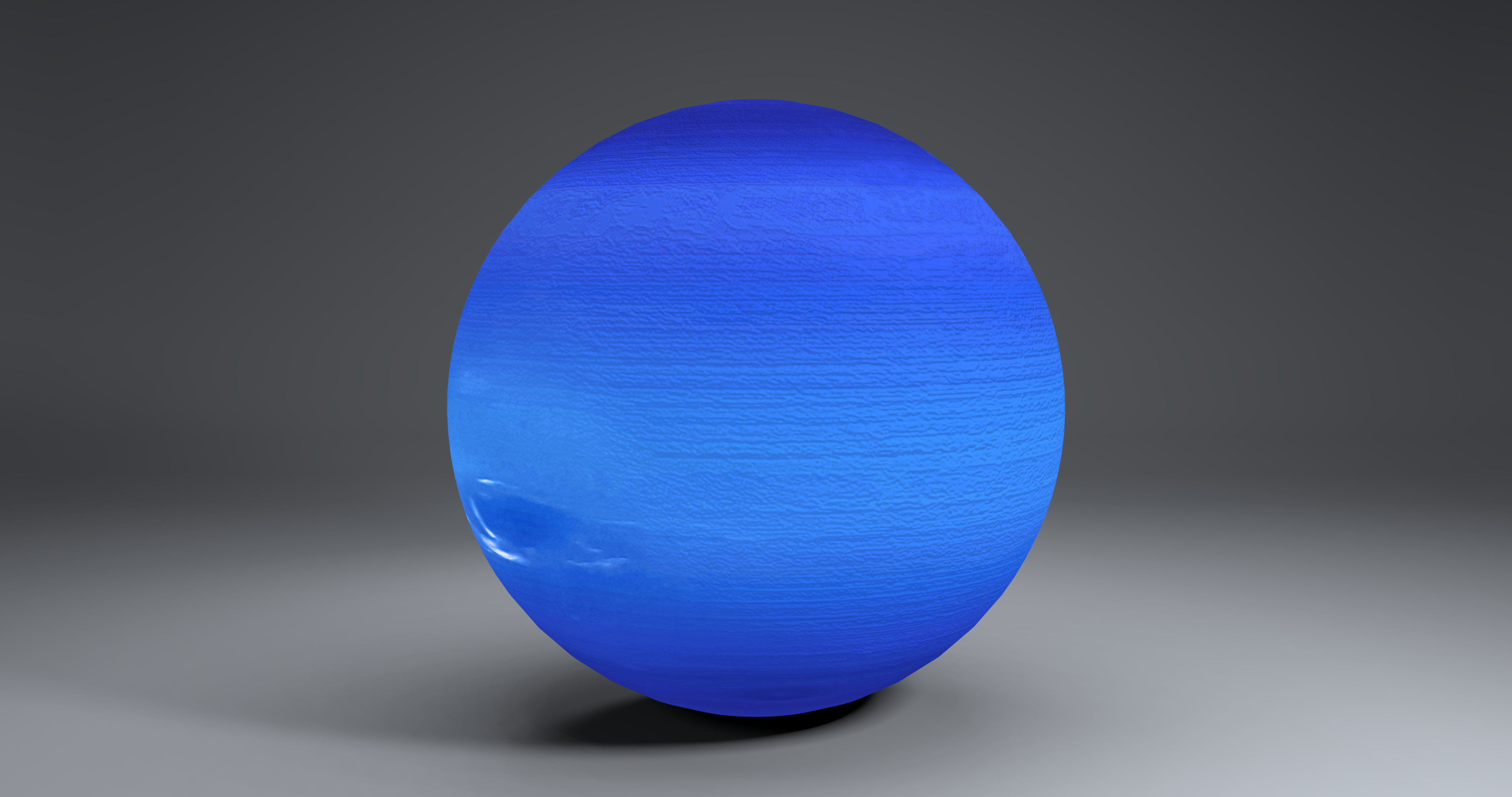 neptune 2k globe 3d model 3ds fbx blend dae obj 269172