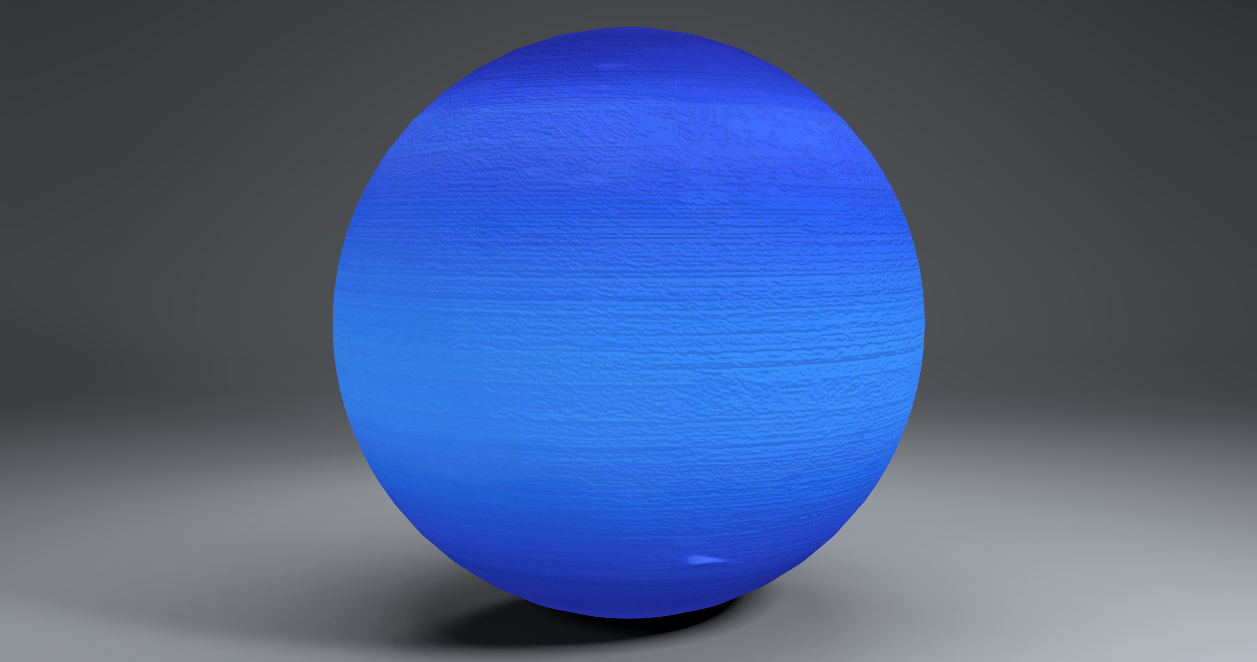 neptune 2k globe 3d model 3ds fbx blend dae obj 269173