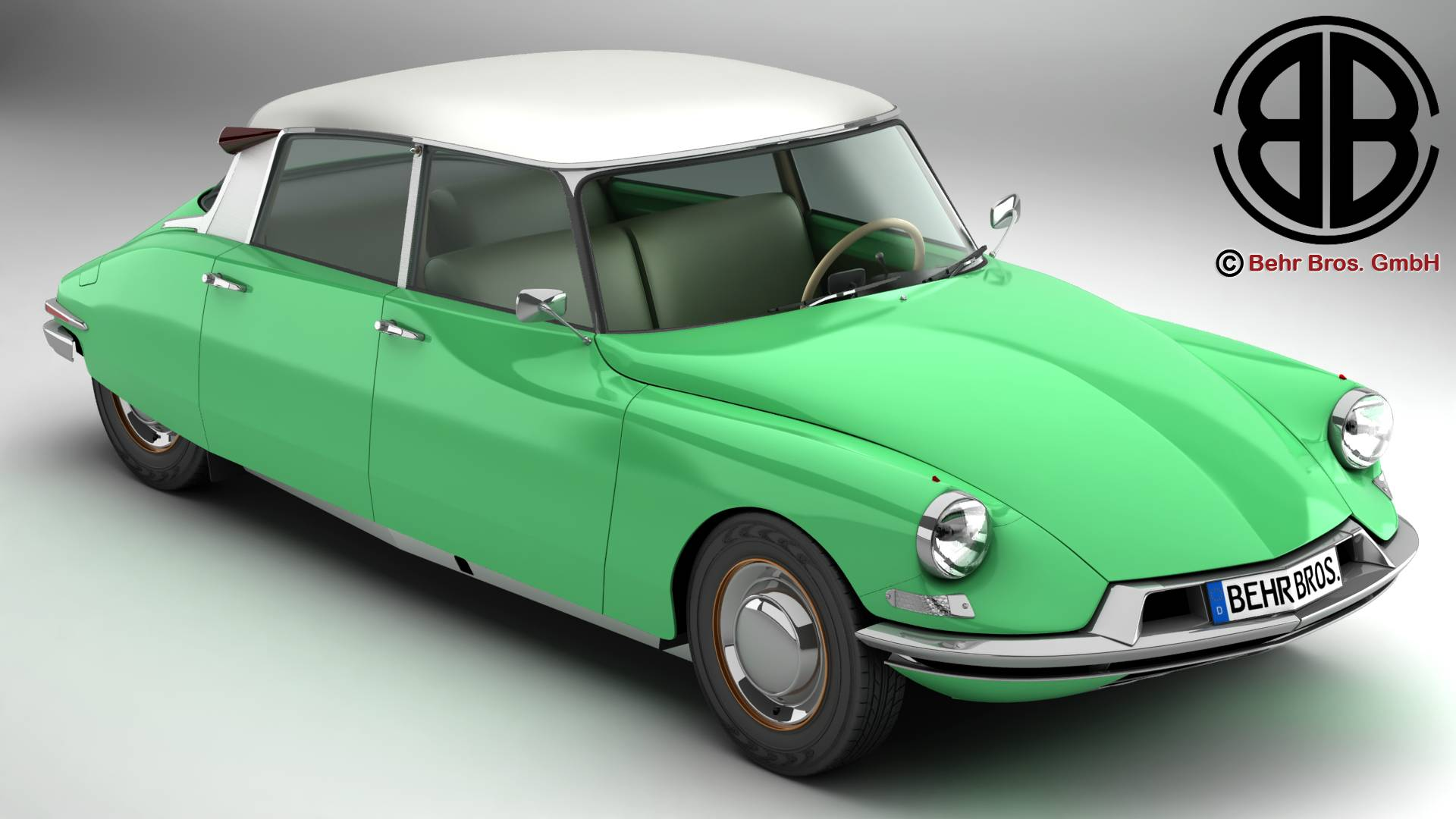 citroen ds 19 3d model 3ds max fbx c4d le do thoil 269270