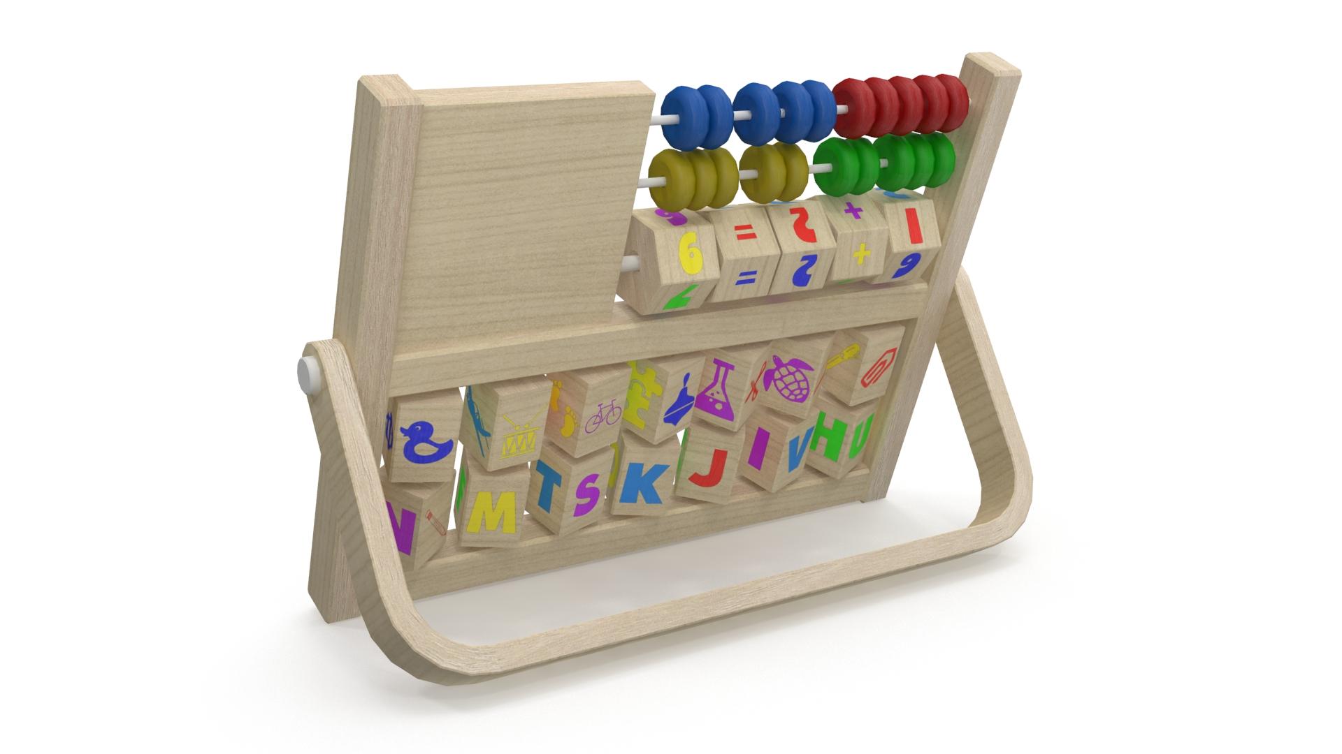 educational toy 3d model 3ds max fbx c4d obj 269320