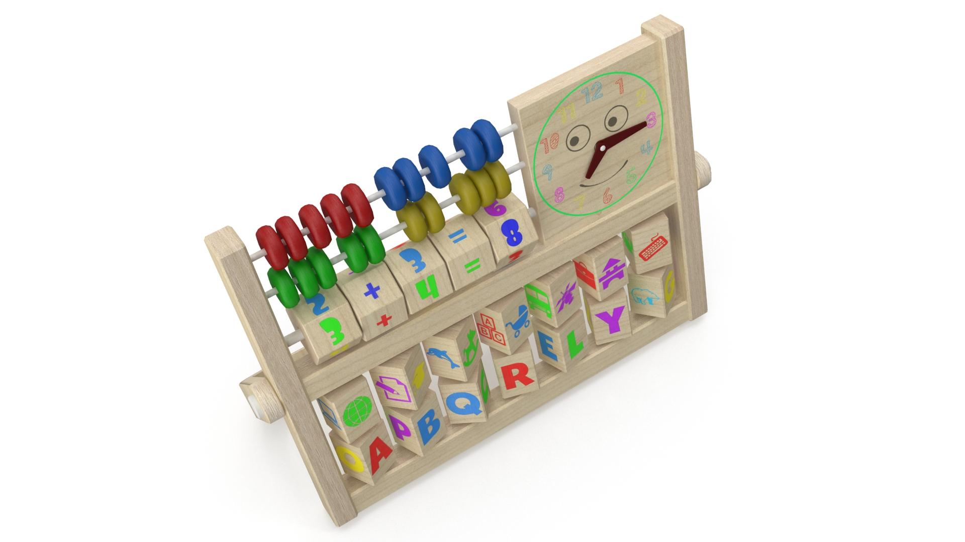 educational toy 3d model 3ds max fbx c4d obj 269321