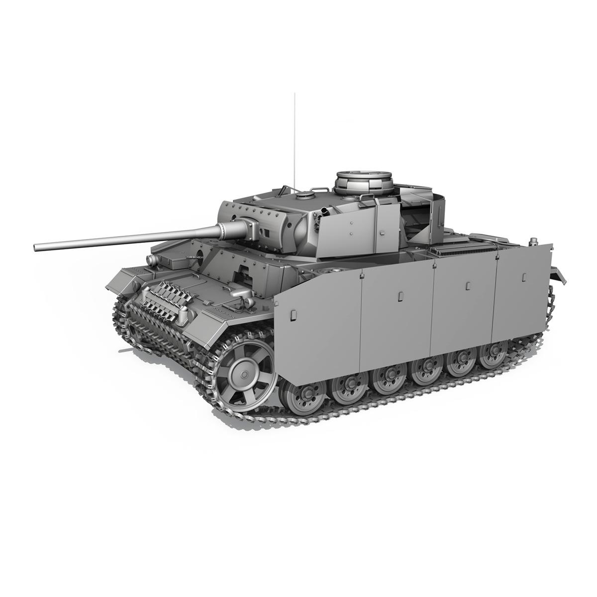 pzkpfw iii – panzer 3 – ausf.m – 413 3d model 3ds c4d lwo obj 269376