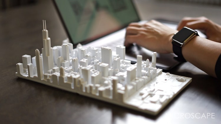 microscape chicago architectural scale 3D model