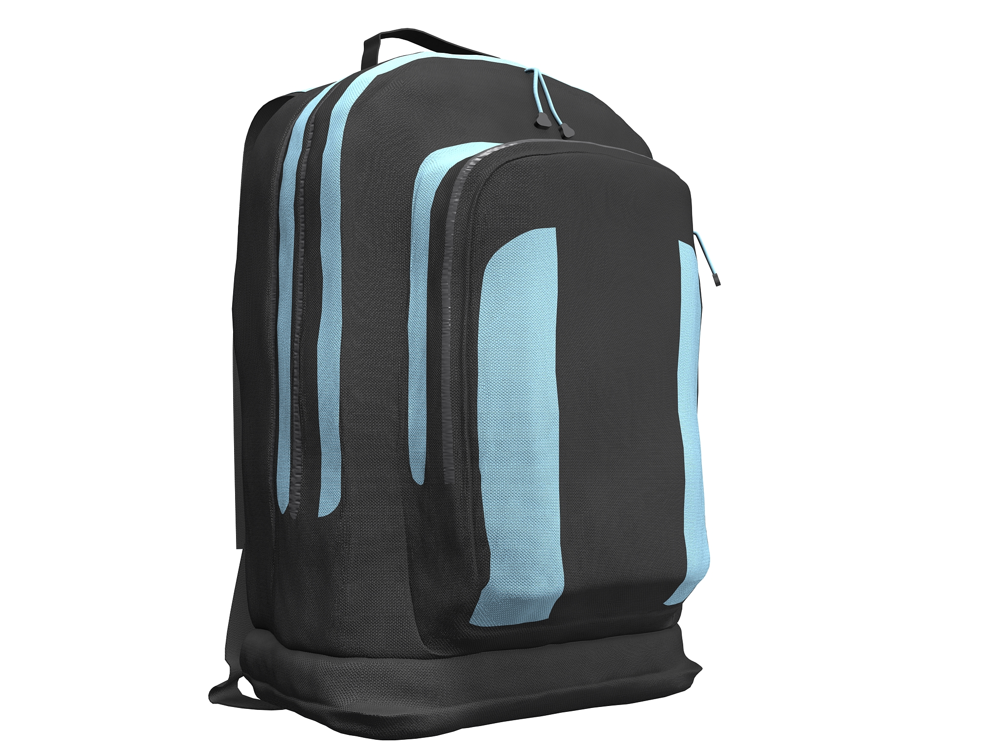 simple backpack 3d model max fbx texture obj 269421