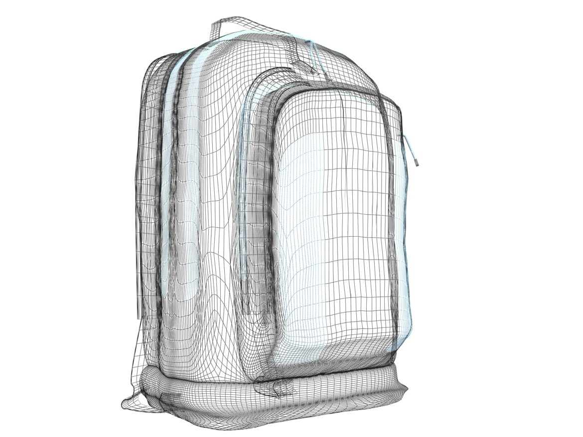 simple backpack 3d model max fbx texture obj 269424