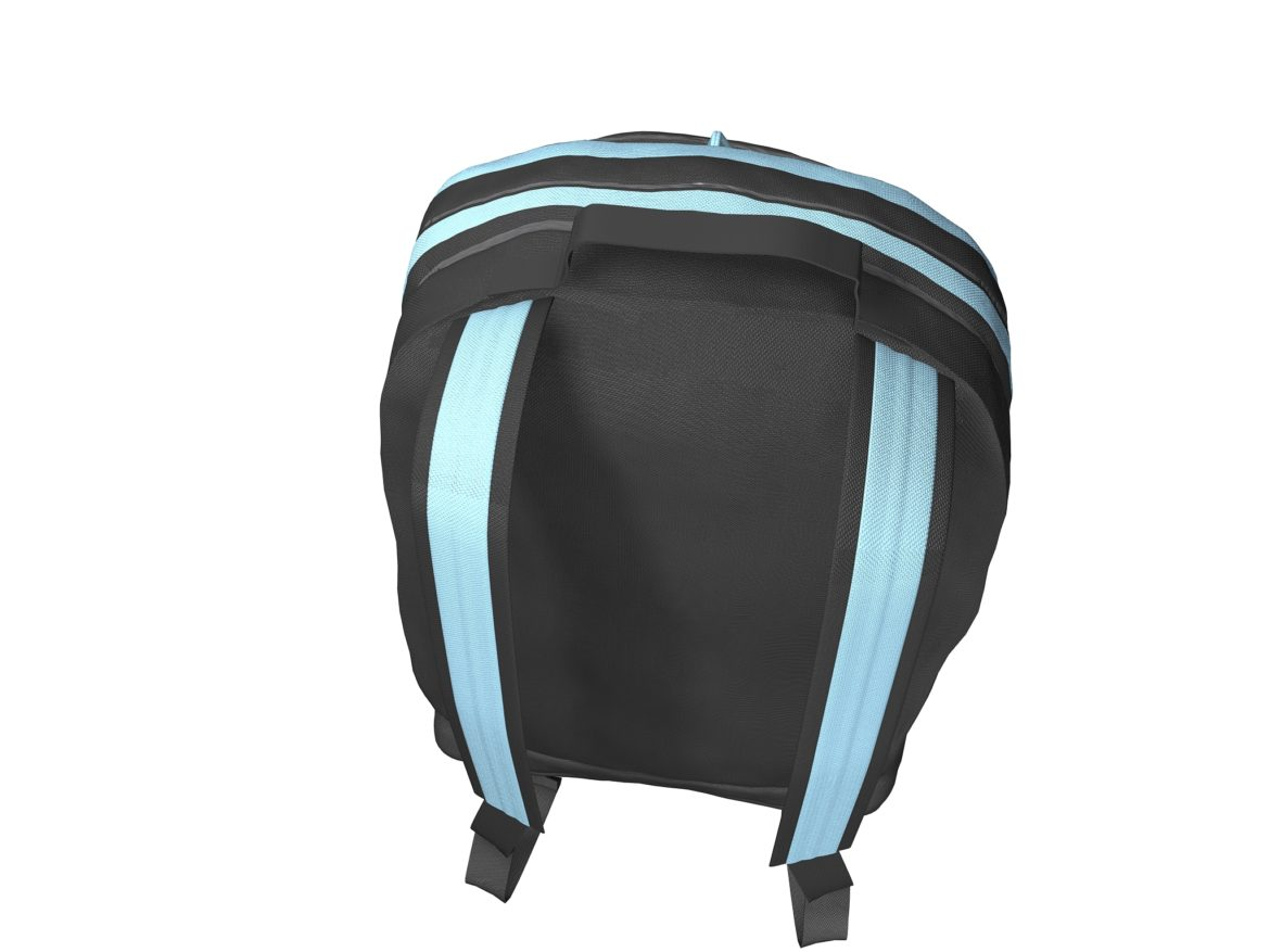 simple backpack 3d model max fbx texture obj 269426