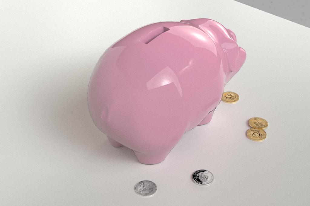 piggy bank 3d model 3ds max fbx dae obj 269461