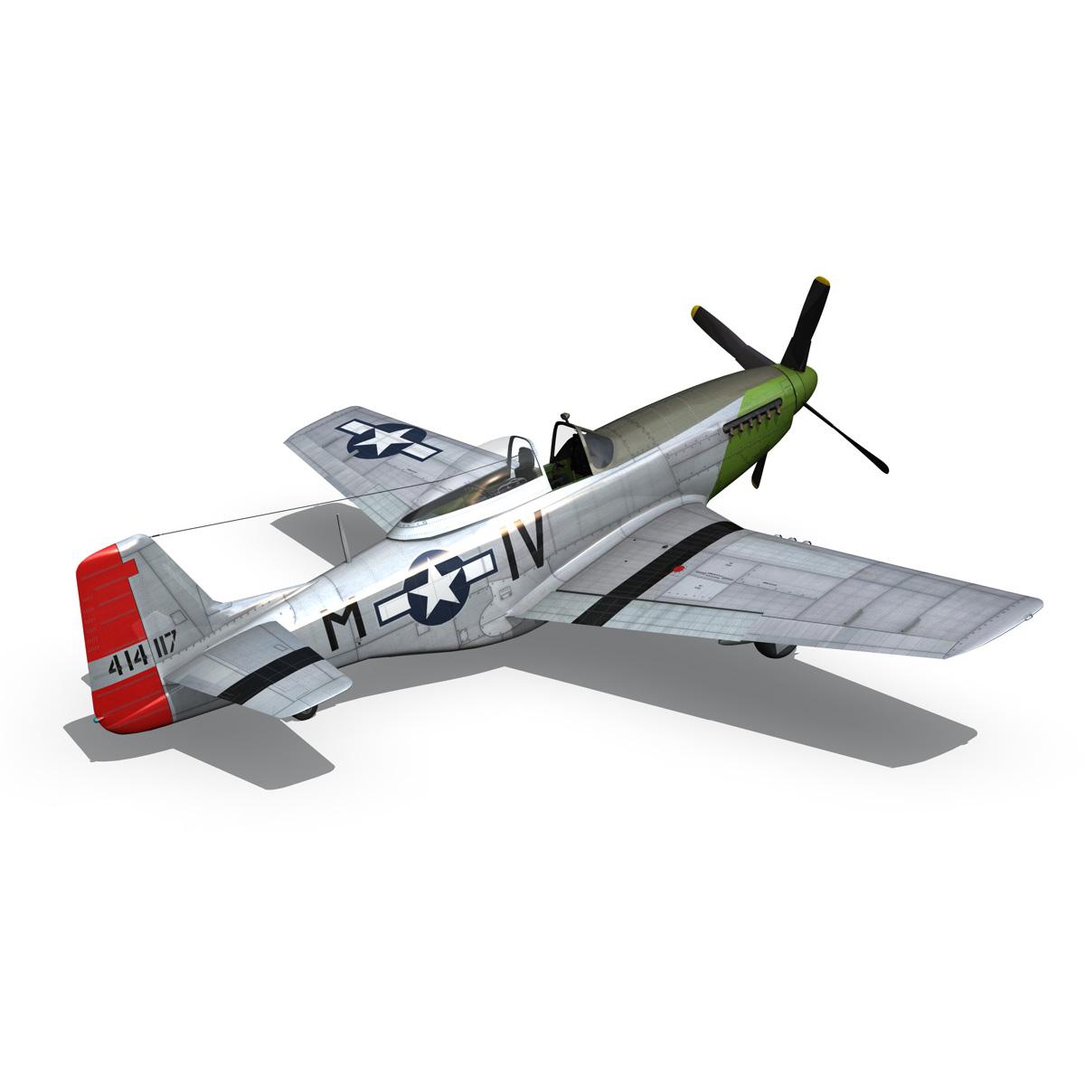 north american p-51d mustang – stinky 3d model fbx c4d lwo obj 269607