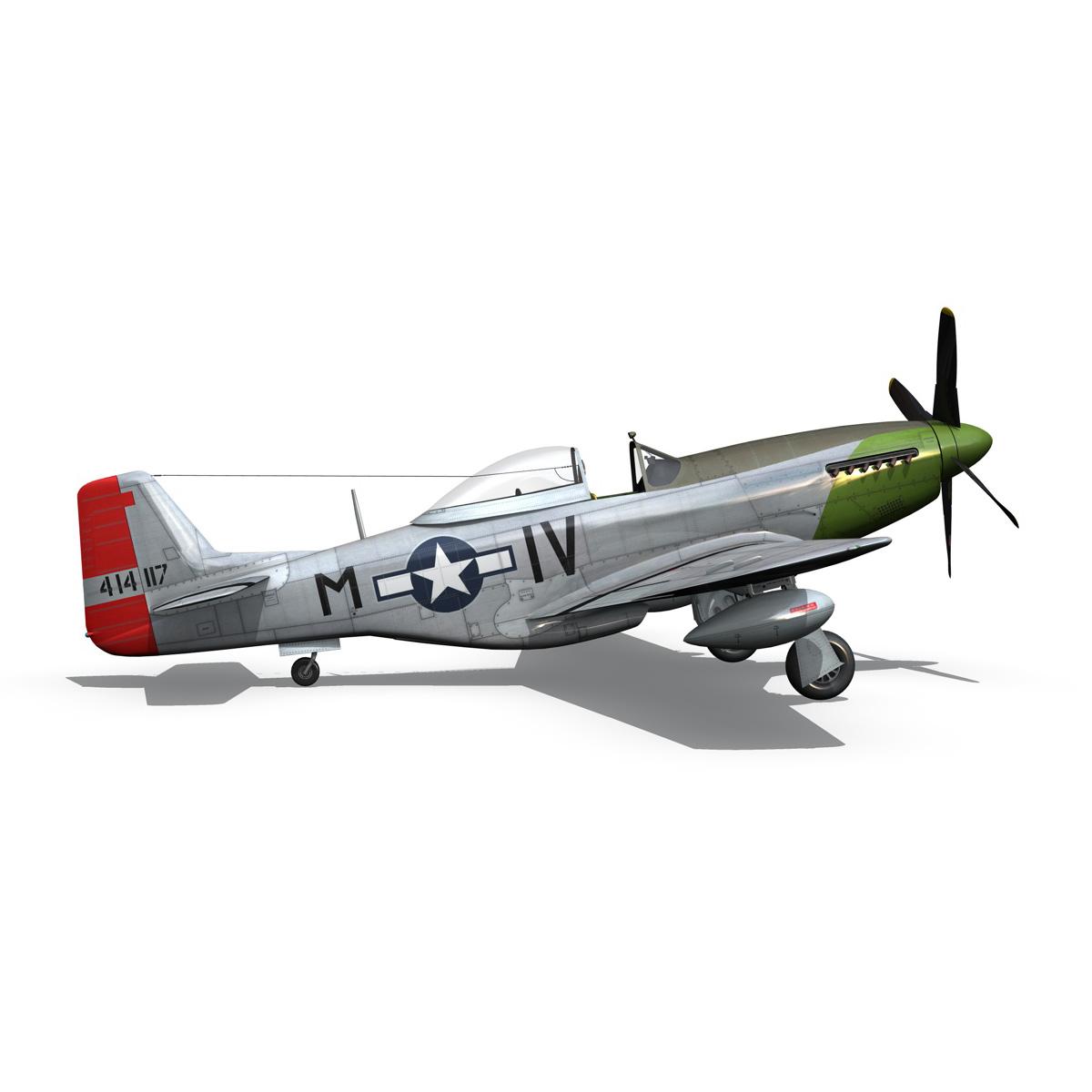north american p-51d mustang – stinky 3d model fbx c4d lwo obj 269609