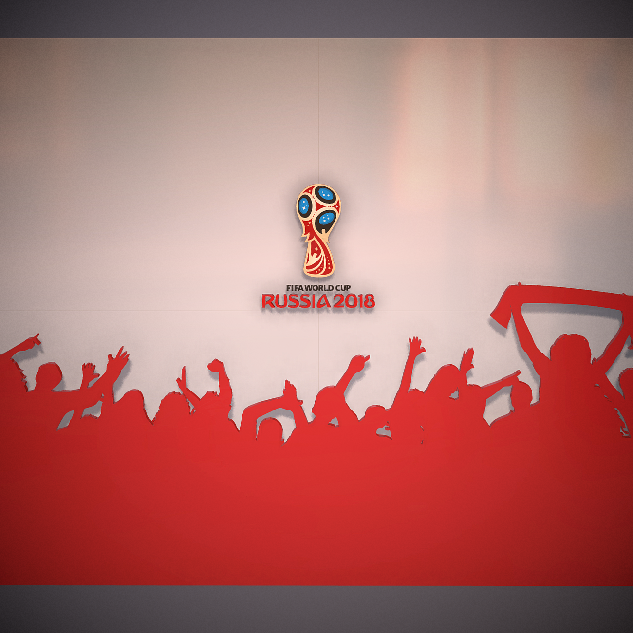 fifa world cup russia 2018 slyle 3d model 3ds max fbx ma mb obj 269741
