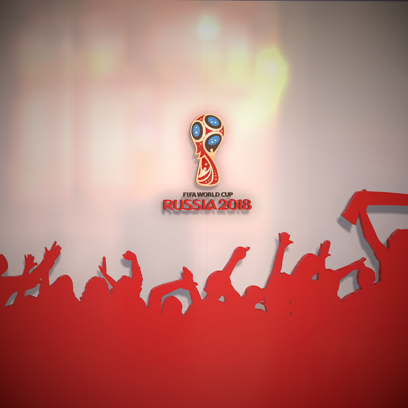 fifa world cup russia 2018 slyle 3d model 3ds max fbx ma mb obj 269743