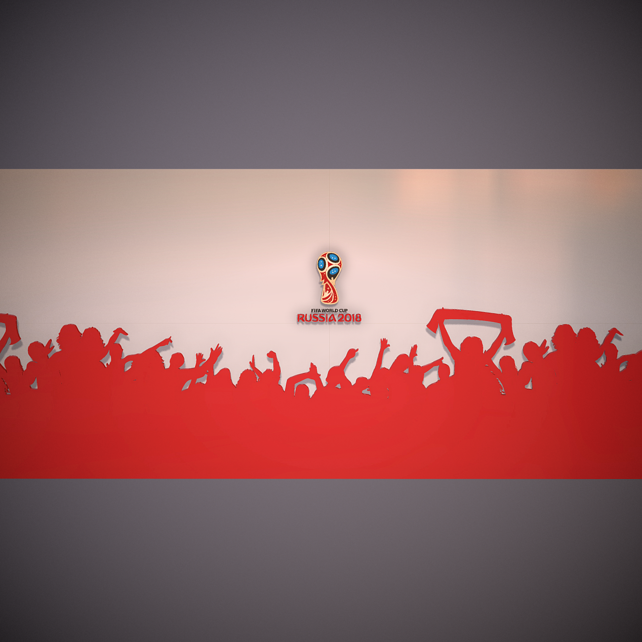 fifa world cup russia 2018 slyle 3d model 3ds max fbx ma mb obj 269751