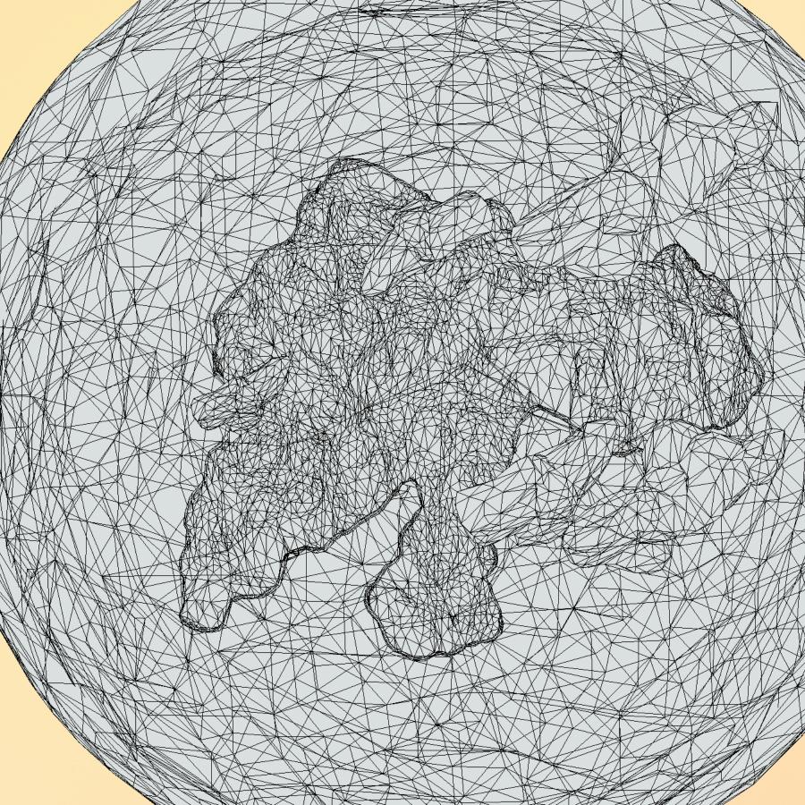 χαμηλό πολυγώνιο τέχνη άμμο καταρράκτη νησί βουνό 3d μοντέλο 3ds max fbx ma mb tga targa icb vda vst pix obj 269826