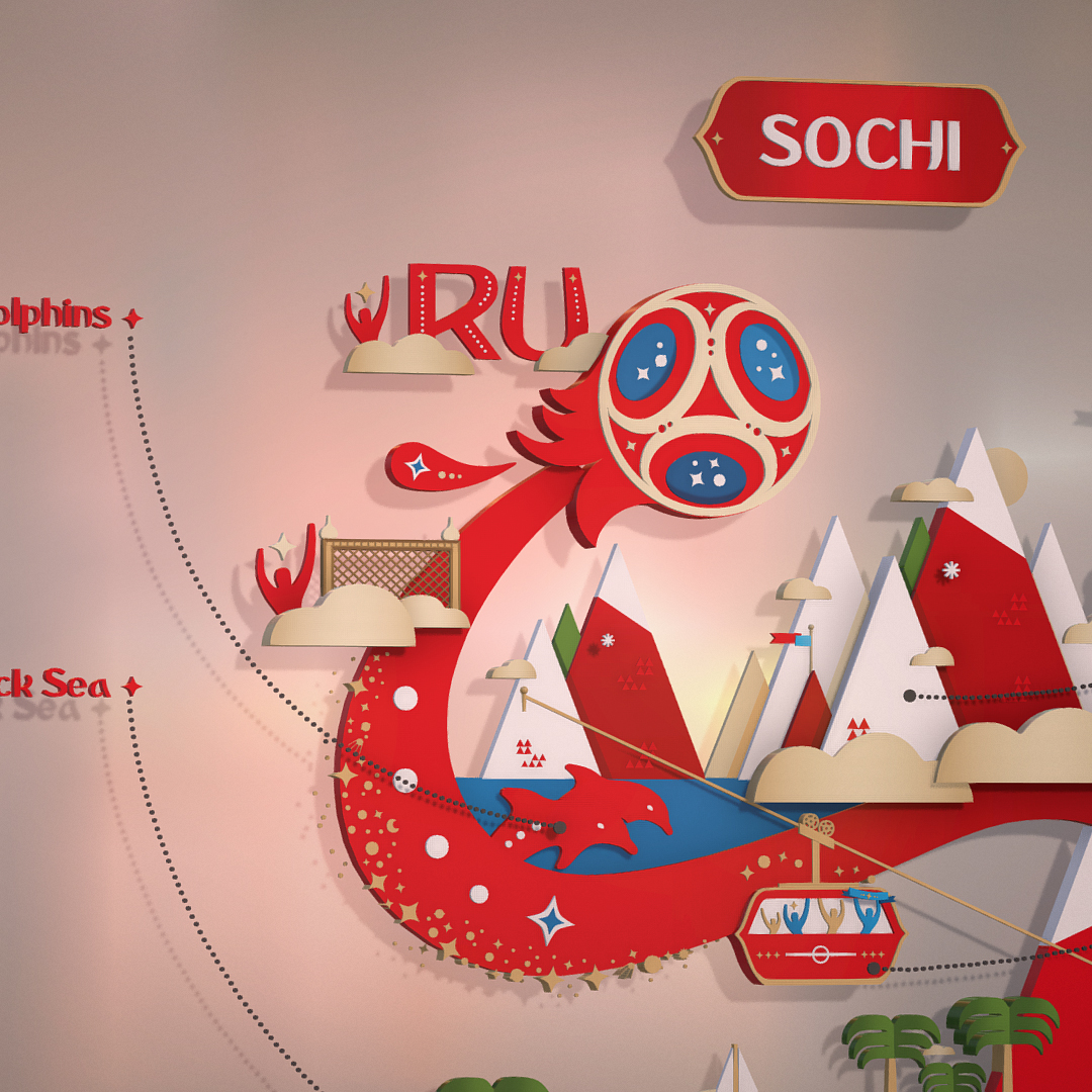 official world cup 2018 russia host city sochi 3d model max fbx ma mb psd 3dm texture obj 269850