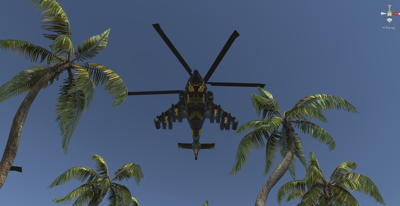 fantasy military helicopter 3d model fbx 269881