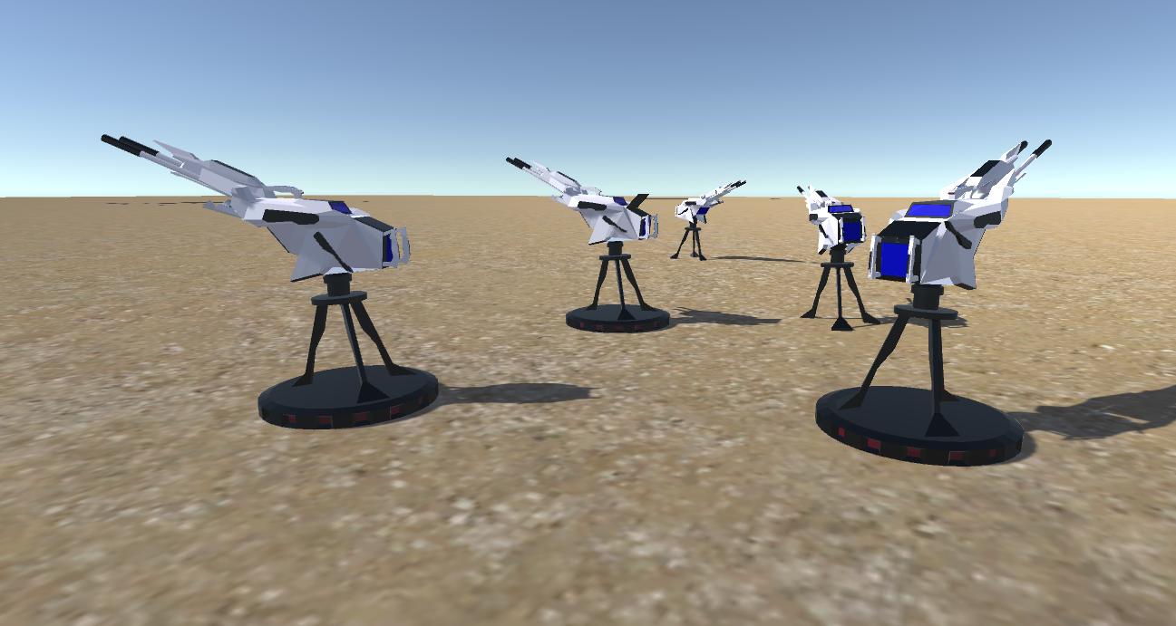 battle arctic turret-gun-fantasy weapons for games 3d model fbx 270126