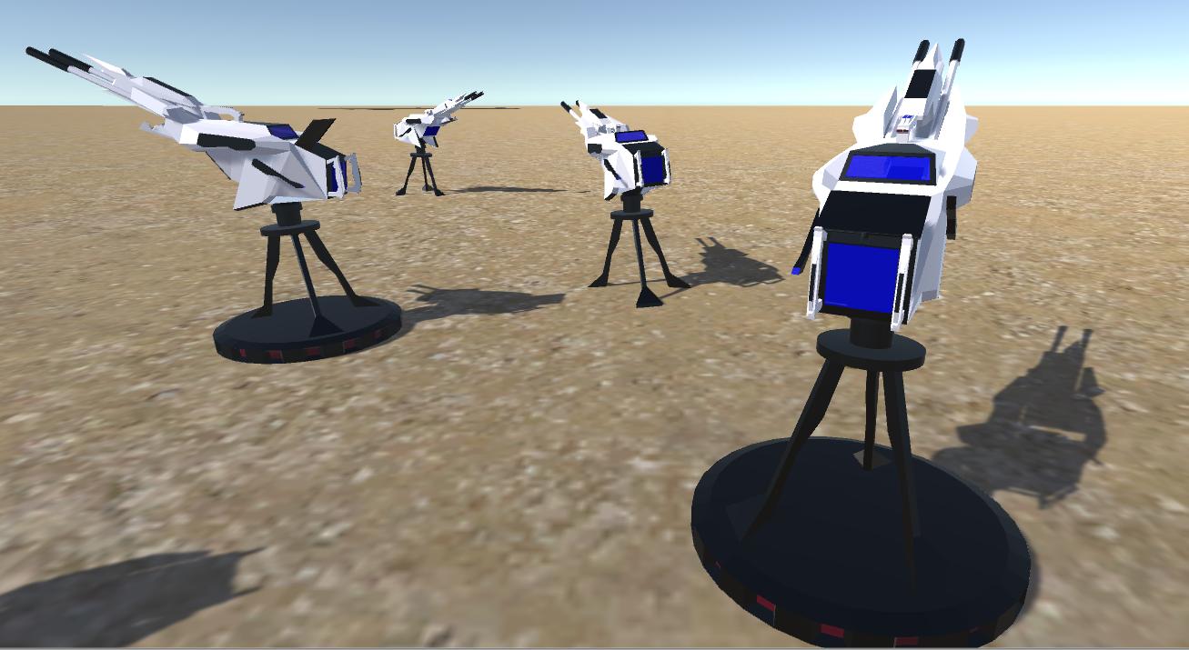 battle arctic turret-gun-fantasy weapons for games 3d model fbx 270128