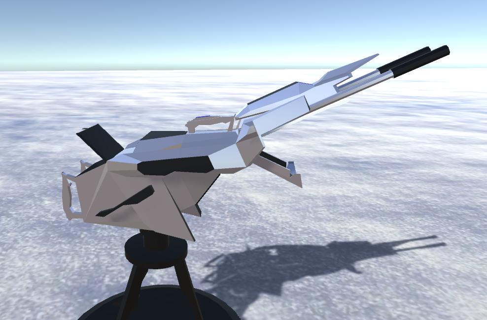 battle arctic turret-gun-fantasy weapons for games 3d model fbx 270169