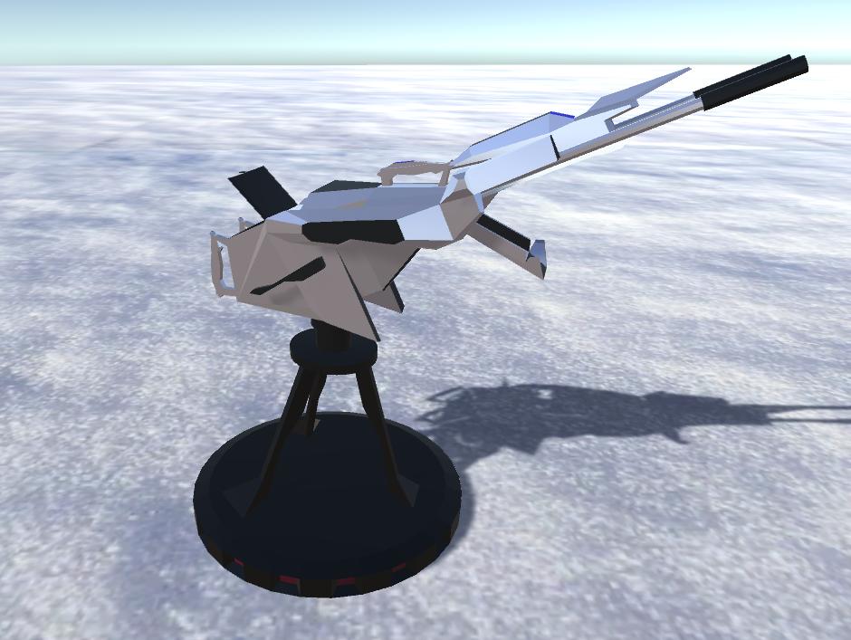 battle arctic turret-gun-fantasy weapons for games 3d model fbx 270170