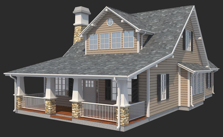 Family Suburban House