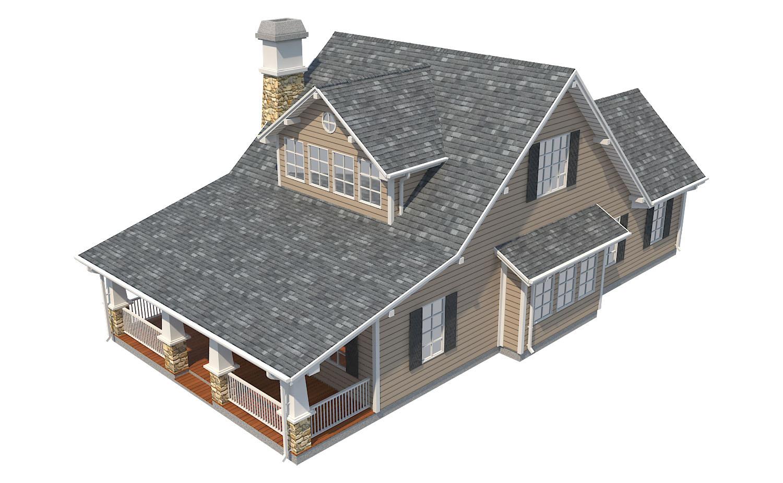 family house set collection 3d model 3ds max  fbx obj 270262