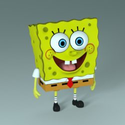 SpongeBob - Bob Esponja 3d model 0