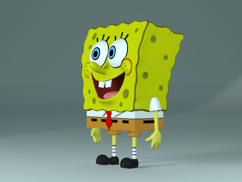 spongebob - bob esponja 3d modell max fbx c4d lxo textúra obj 270434