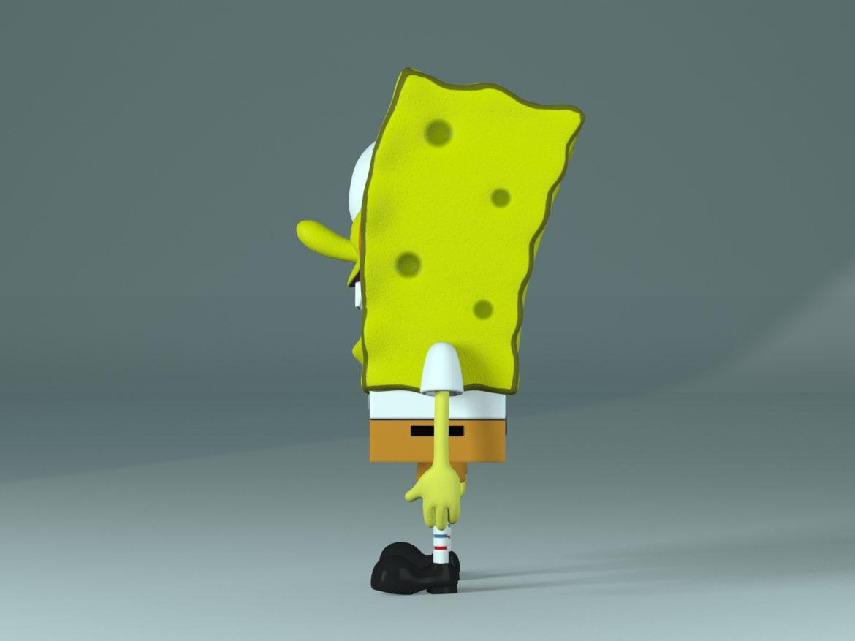 spongebob – bob esponja 3d model max fbx c4d lxo  texture obj 270435