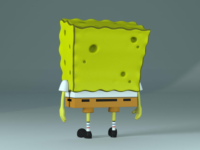 spongebob – bob esponja 3d model max fbx c4d lxo  texture obj 270436
