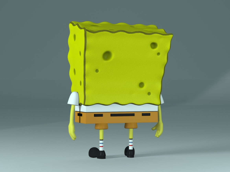 spongebob - bob esponja 3d modell max fbx c4d lxo textúra obj 270436