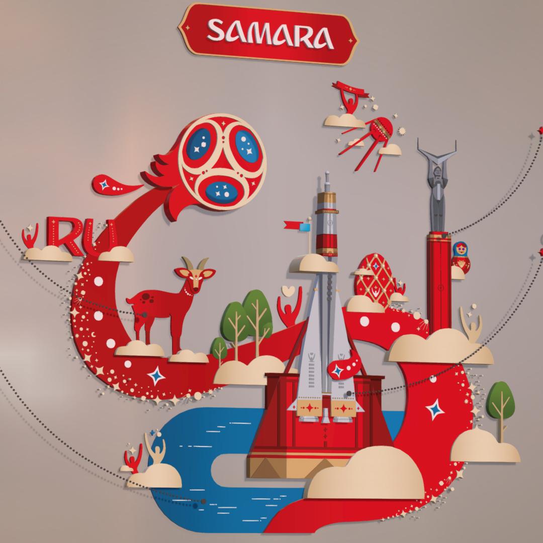 official world cup 2018 russia host city samara 3d model max 270638