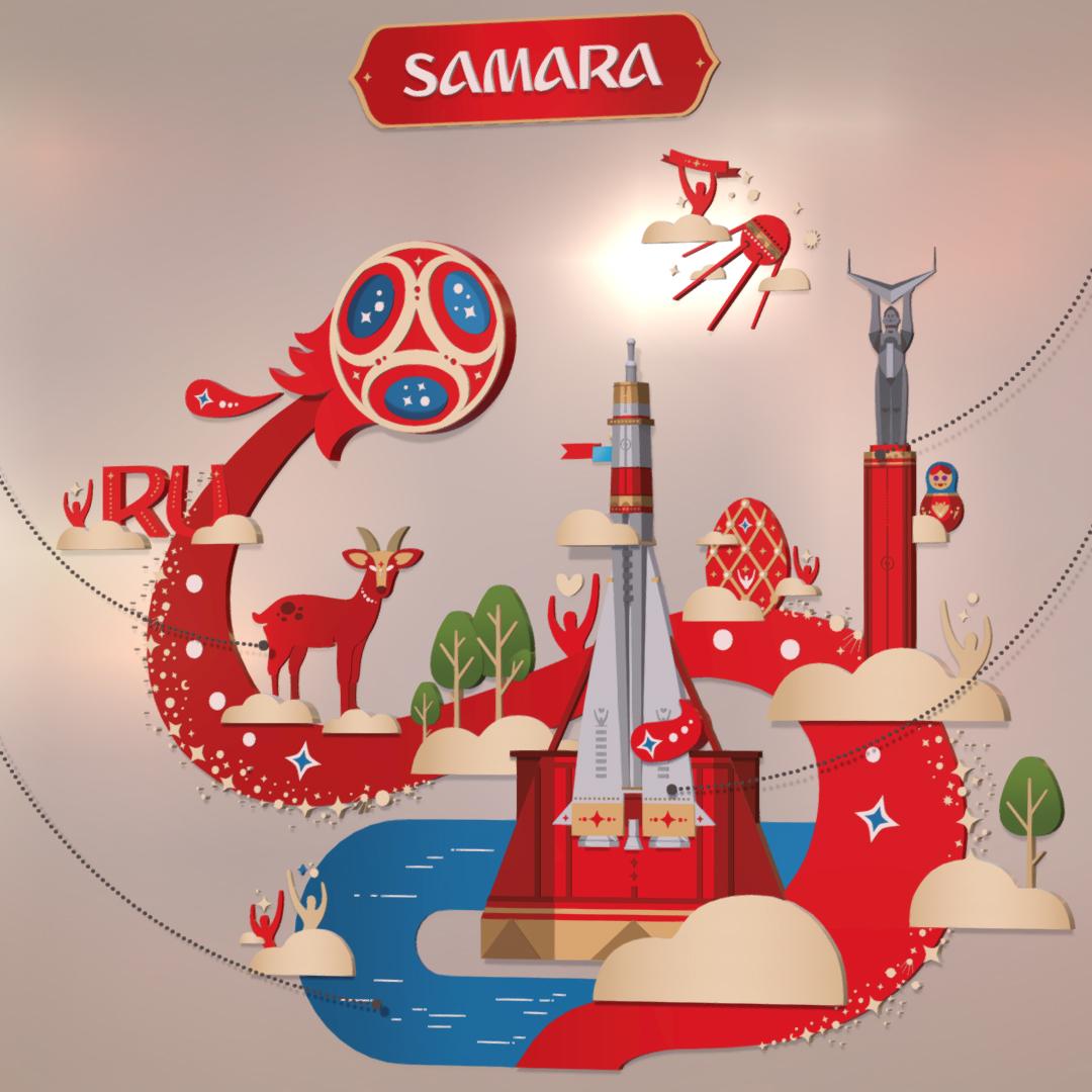 official world cup 2018 russia host city samara 3d model max 270639