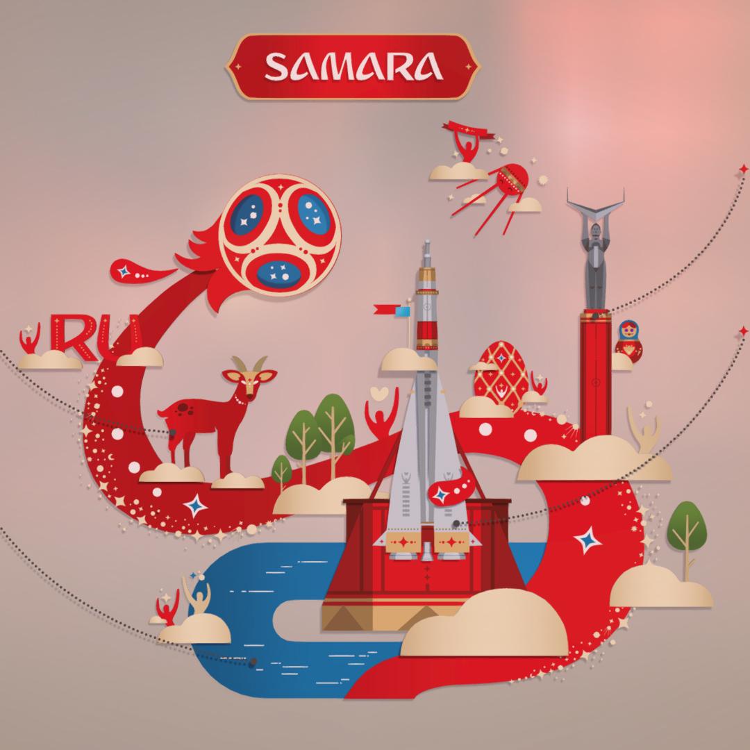 official world cup 2018 russia host city samara 3d model max 270653